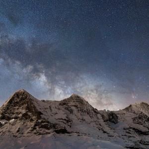 Eiger-Mönch-Jungfrau étoilésI
