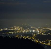 Coucher de Lune sur Lucerne