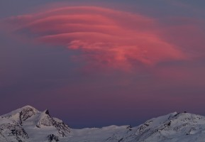 Lenticulaire rougeoyant