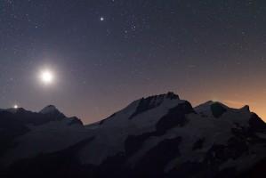 Naissance Vénus, de la Lune et de Jupiter