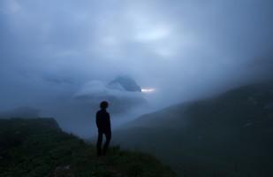 Perdu dans les nuages