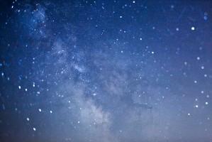 Voie Lactée floutée