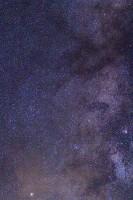 Tapissée d'étoiles